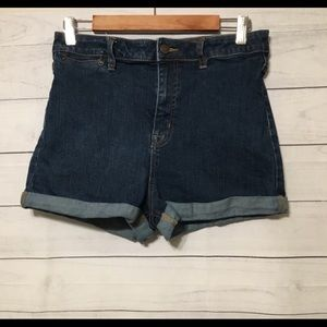 Urban Outfitters BDG PinUp High Rise Denim Shorts